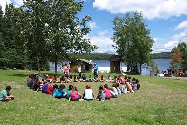Wabun Junior Youth, from the ages of eight to 12, came together in group sessions for learning and fun during the 10th Annual Wabun Youth Gathering held from July 11 to 22.
