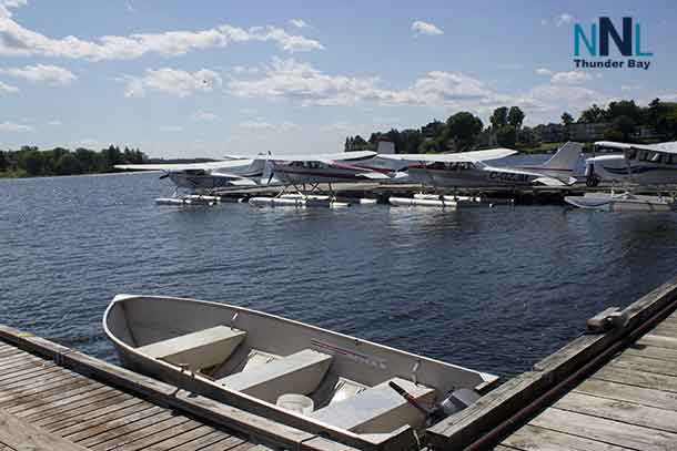 Lake of the Woods in Kenora - waterfront airport