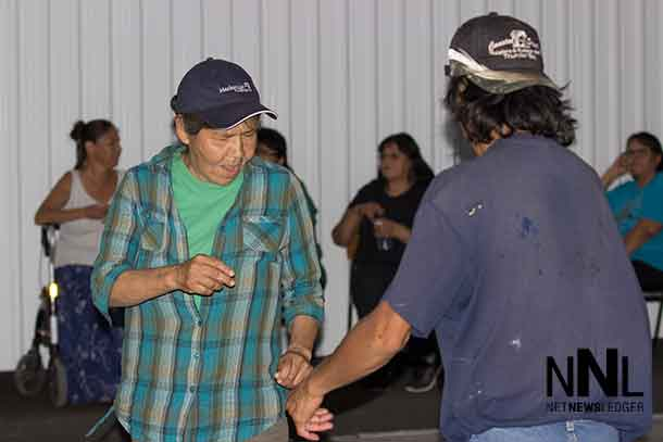 Dancing up the groove in Whitesand First Nation