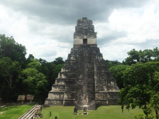 Mayan Temples - this advanced civilization vanished