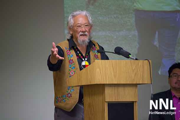 David Suzuki - Bluedot campaign town hall