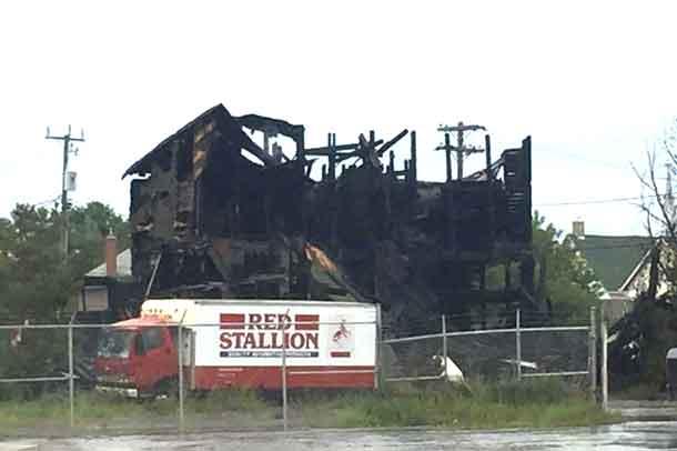 Thunder Bay Fire Rescue on Scene