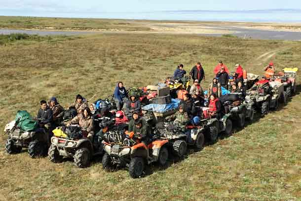 Fort Severn Junior Canadian Rangers Learn from the Land - Net Newsledger