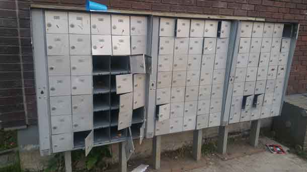 Mailbox in Limbrick on August 27 2016