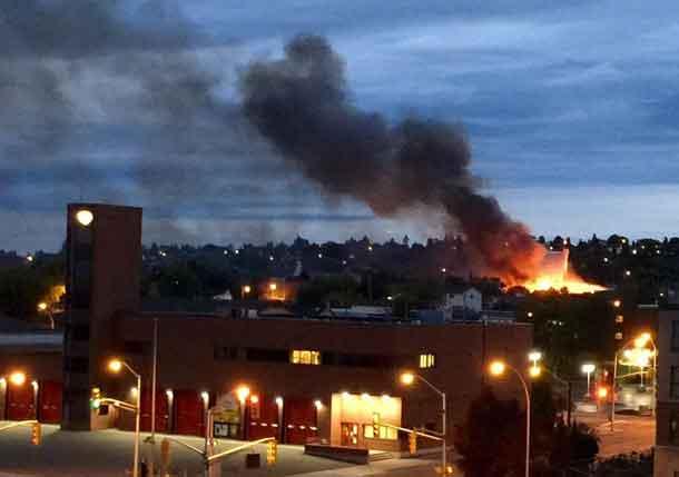 Fire in PA