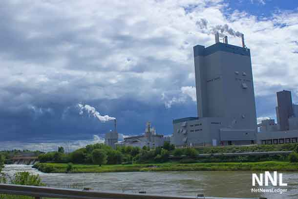Resolute Paper Mill in Dryden Ontario
