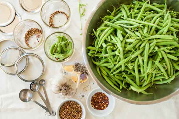 Mise en place for a pickle recipe. Credit: Copyright 2016 Lynne Curry