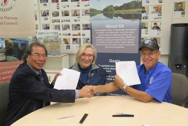 Signing of MOU on Water Agreement for First Nations