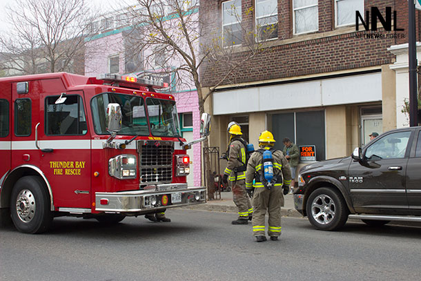 Thunder Bay Fire Rescue on May Street