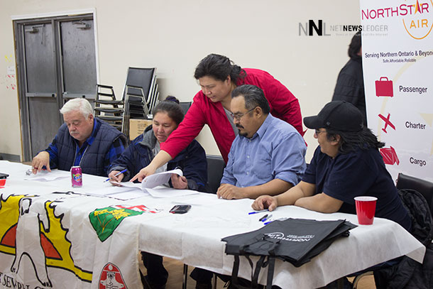 Fort Severn and North Star Air sign agreement