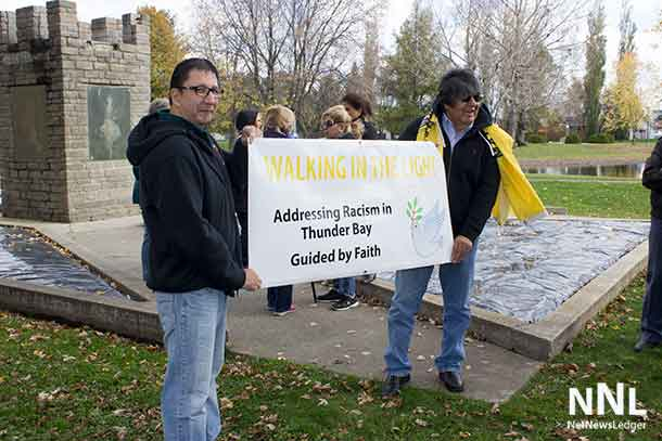 Walking in the Light - Seeking to end racism and hate in Thunder Bay
