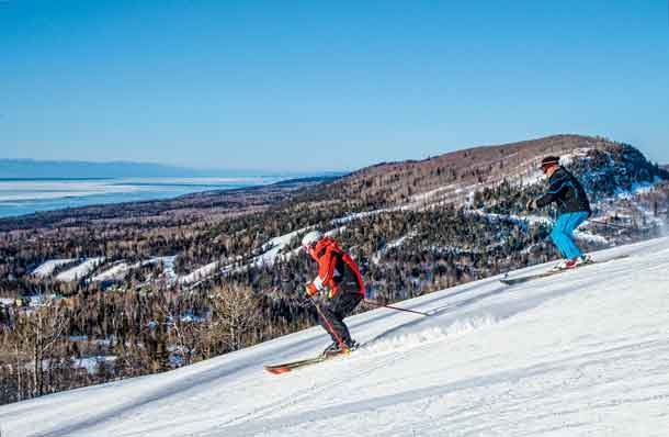 Ski and snowboard season is underway in Cook Country with the opening of Lutsen Mountains