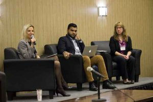 Panelists share their experiences at the Northwestern Ontario Immigration Forum