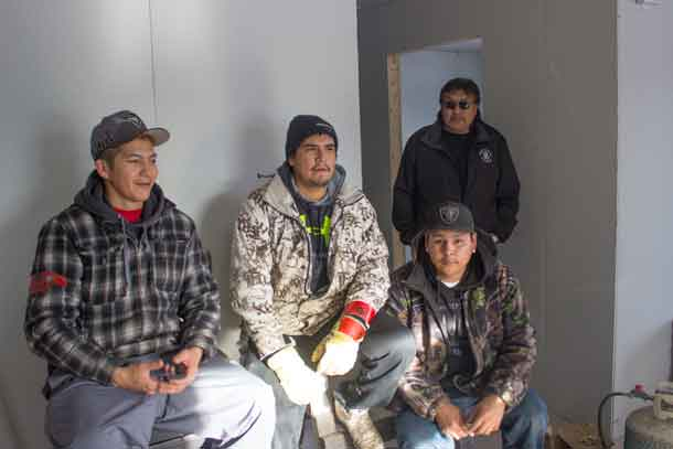 Building capacity and training youth for careers in Sachigo Lake