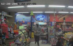 Image of suspect in Macs Robbery - December 28 2016