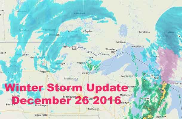 Weatherunderground Wondermap show the storm path