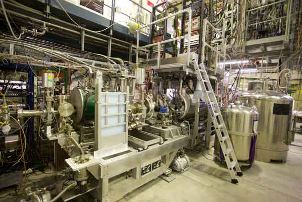Research laboratory at CERN is shown. CREDIT: Professor Niels Madsen