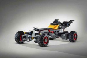 """Built using more than 340,000 LEGO® bricks and measuring 17 feet long, the LEGO® Batmobile from Chevrolet has been designed to strike fear in the heart of any villain. The vehicle is inspired by Batman's Speedwagon featured in """"The LEGO® Batman Movie,"""" which hits U.S. theatres on February 10, 2017"""
