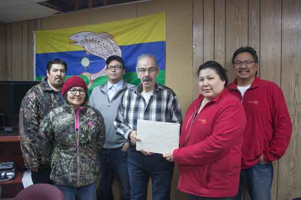 North Star Air presents rebate cheque to PDC