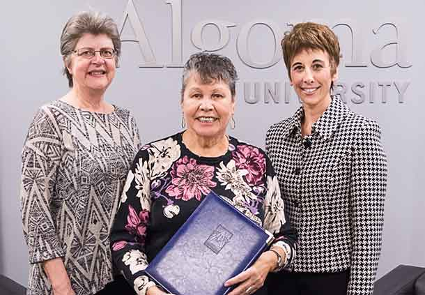 cting President and Vice Chancellor, Dr. Celia Ross, and Chancellor, Shirley Horn, and Board of Governors Chair, Asima Vezina.