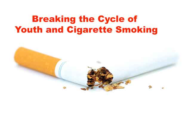 Cigarette smoking brings many health risks - especially to youth