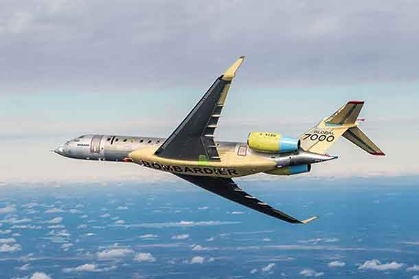 Need for Speed Propels Global 7000 Aircraft to Mach 0.995