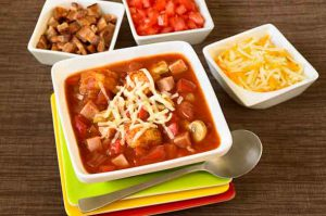 Easy Pizza Soup a new twist on a family favourite
