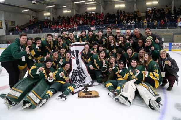 The Alberta Pandas are the 2016-2017 Women's Hockey Champs