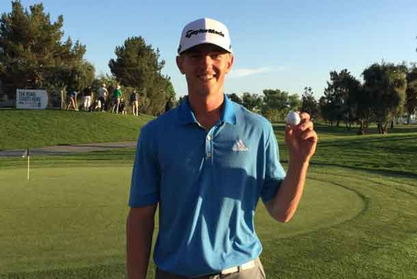 Jake Knapp cruised to a win at Q-School earning him a spot on the PGA TOUR Canada tour. Photo by Brian Decker