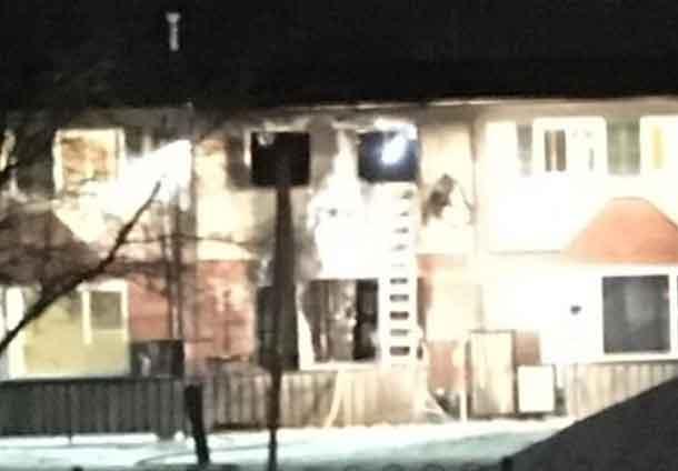 Fire in Limbrick - Image Facebook