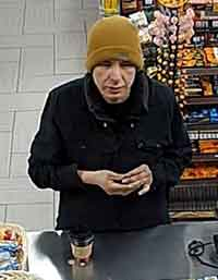 Suspect sought by police in robbery at Mac's Convenience Store on Cumberland Street