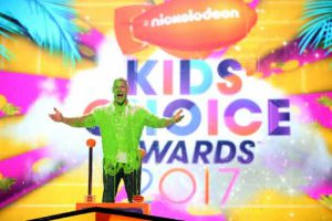 at Nickelodeon's 2017 Kids' Choice Awards at USC Galen Center on March 11, 2017 in Los Angeles, California.