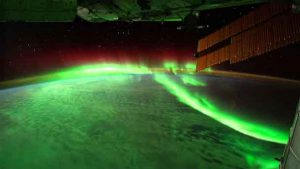 Northern Lights from the International Space Station - Image ESA