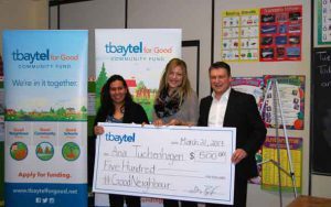Tbaytel for Good offers funding for community efforts.