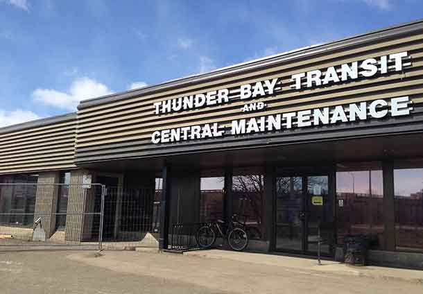 Thunder Bay Transit Office on Fort William Road