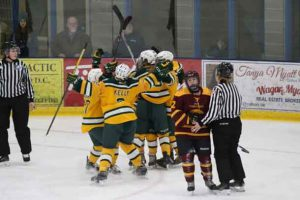 University of Alberta Pandas have secured a spot in the 2016-17 Gold Medal game