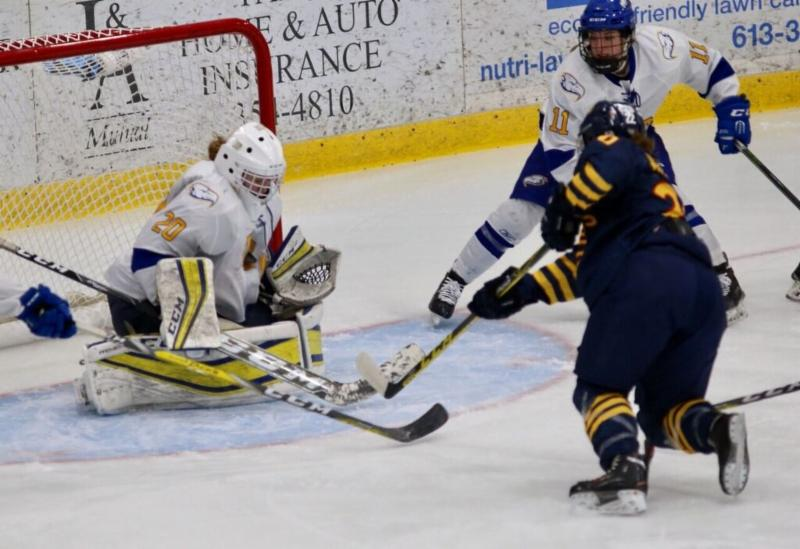 Women's Hockey Championship: Saxvik winner sees No.1 UBC past upstart hosts Queen's