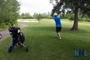 Golfing at Whitewater Golf Course