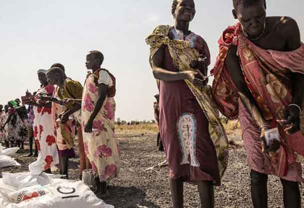 Without massive aid there will be a famine in Sudan, Angola, and other parts of Africa