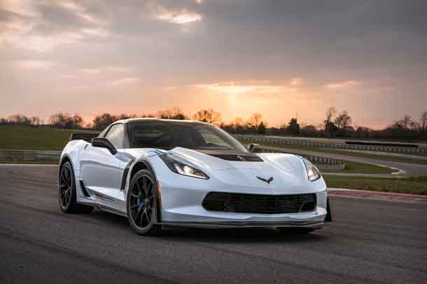 2018 Chevrolet Corvette with Carbon Fibre package