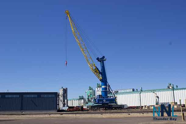 Crane at Keefer Terminal in Thunder Bay