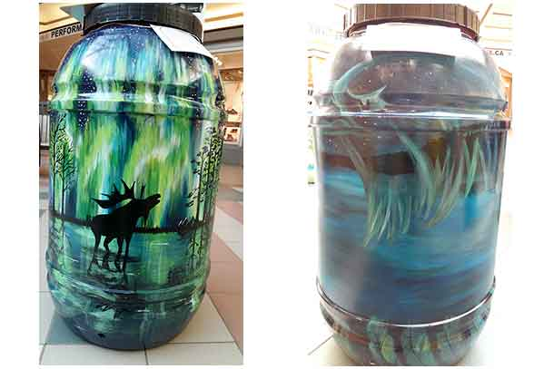 EcoSuperior has announced the winners of the 7th Annual Painted Rain Barrel competition