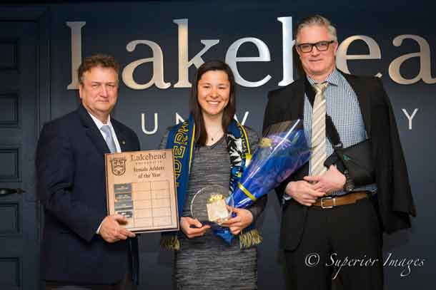 Lakehead Athletics Female Athlete of the year