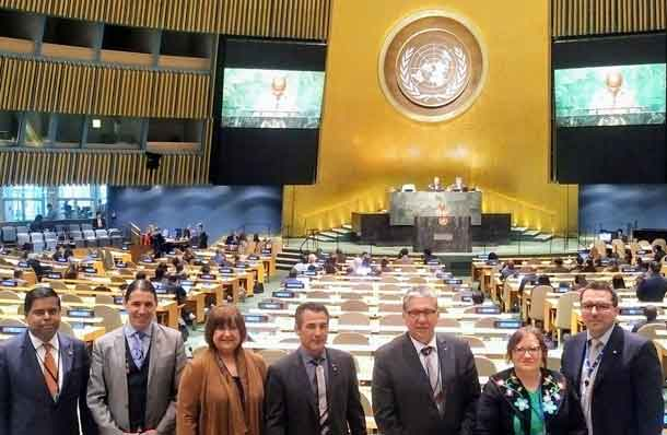 """It was an honour to attend the United Nation Permanent Forum of Indigenous Peoples in New York this week alongside several of my colleagues. Reengaging with the world creates opportunities at home, and I look forward to building on the relationships forged during the Forum to create new benefits for all the communities of Thunder Bay Rainy River."""