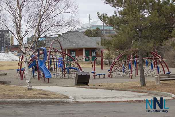The Playground at Marina Park in Thunder Bay