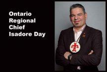 Ontario Regional Chief Isadore Day