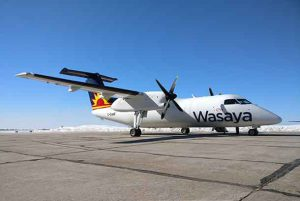 Wasaya announced an exciting addition to their fleet, the World's first Dash 8-100 Package Freighter