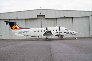 Wasaya Airways will fly their Beech 19 aircraft to Winnipeg