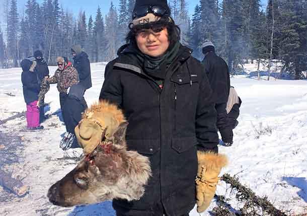 Fort Severn – Junior Canadian Rangers Feast on Caribou Head - Net Newsledger