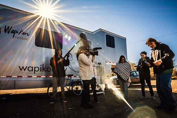 Wapikoni Mobile Studio